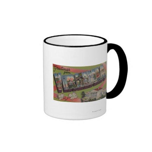 VirginiaLarge Letter ScenesVirginia 2 Ringer Coffee Mug
