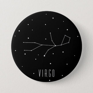 Virgo 7.5 Cm Round Badge