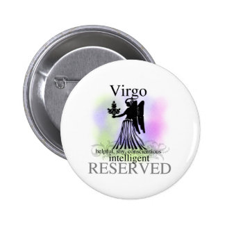 Virgo About You 6 Cm Round Badge