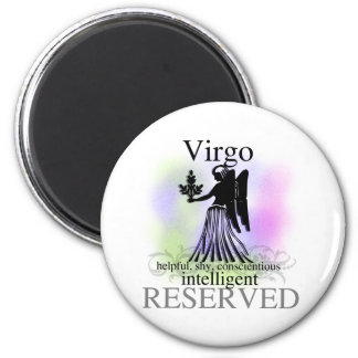 Virgo About You 6 Cm Round Magnet