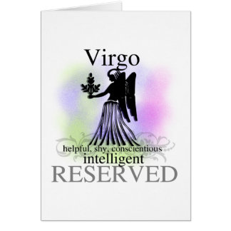 Virgo About You Card