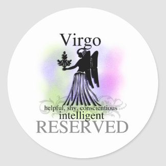 Virgo About You Stickers