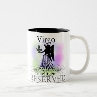 Virgo About You Two-Tone Mug