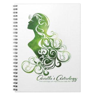 Virgo Astrology Notepad Notebook