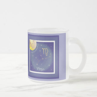 Virgo August 23 tons of Septembers 23 cup Frosted Glass Mug