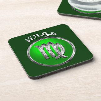 Virgo Beverage Coasters