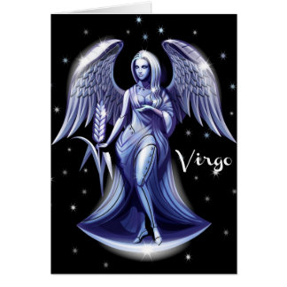 Virgo Birthday Card