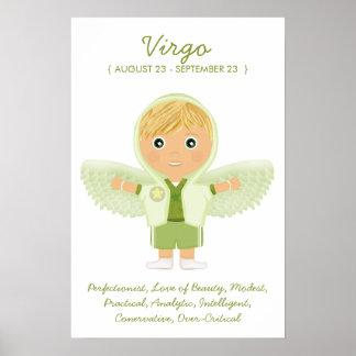Virgo - Boy Horoscope Poster