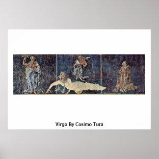 Virgo By Cosimo Tura Posters