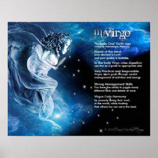 Virgo Characteristics Posters