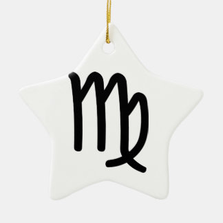 Virgo Christmas Ornament