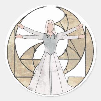 Virgo Classic Round Sticker