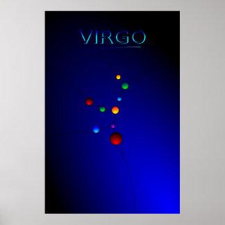 Virgo Constellation Poster