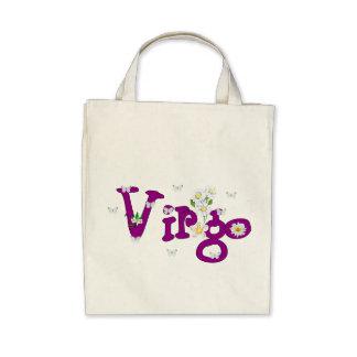 Virgo Flowers Bag