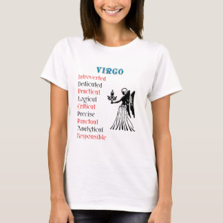 Virgo Horoscope Zodiac Sign T-Shirt
