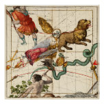Virgo, Hydra, Crater, Bootes, Leo and  Centaurus Poster