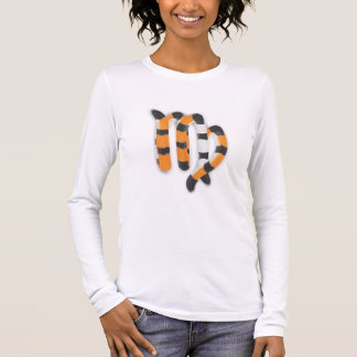 """Virgo in Tiger""s Style"" Long Sleeve T-Shirt"