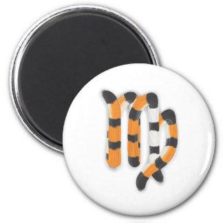"""Virgo in Tiger""s Style"" Magnet"