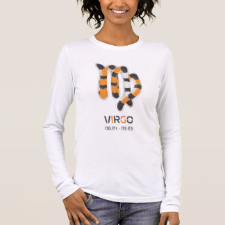 """Virgo in Tiger's Style"" Long Sleeve T-Shirt"