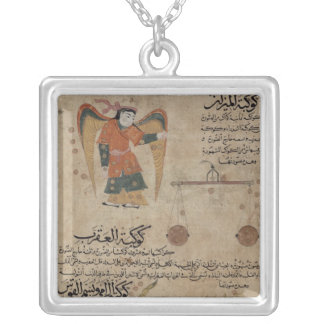 Virgo, Libra and Scorpio Silver Plated Necklace