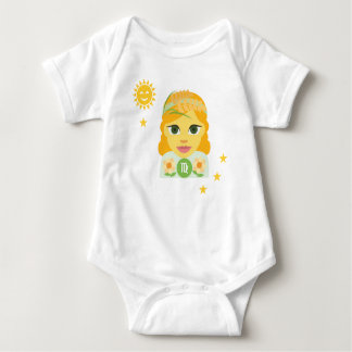Virgo maiden baby bodysuit - zodiac star sign