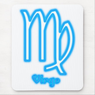 Virgo Neon Mouse Pads