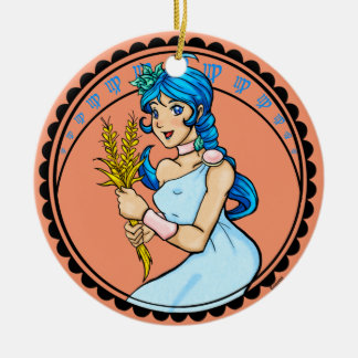 Virgo Ornament