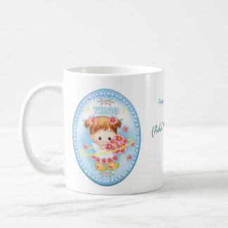 Virgo - Personalised Zodiac Mug