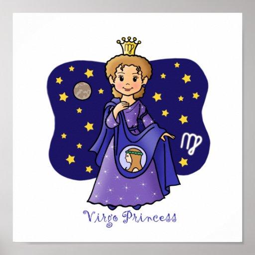 Virgo Princess Print