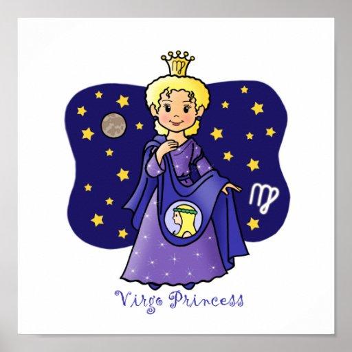 Virgo Princess Posters