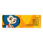 Virgo Profile Card Business Card