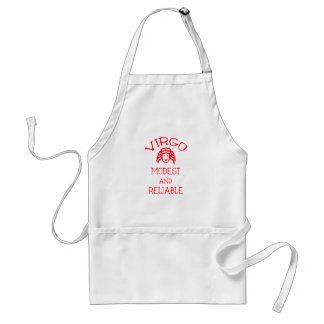 Virgo (Red Text) Standard Apron