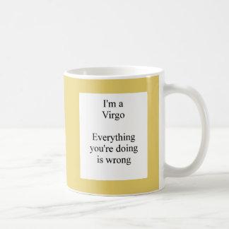 Virgo sun sign humor mug