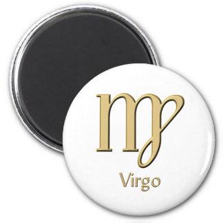 Virgo symbol magnet