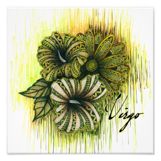 Virgo Symbol Art Photo