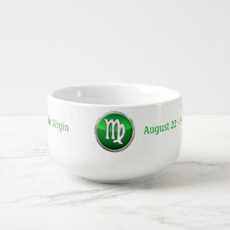 Virgo - The Maiden Zodiac Sign Soup Mug