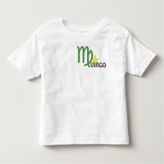 Virgo Toddler T-Shirt: Front & Back Shirt