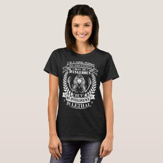 Virgo Woman Prettiness Intelligence Lethal Tshirt