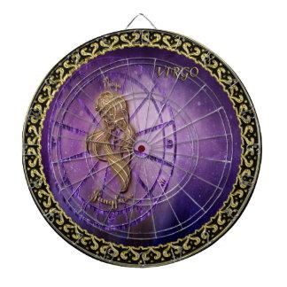 virgo Zodiac Astrology design Horoscope Dartboard
