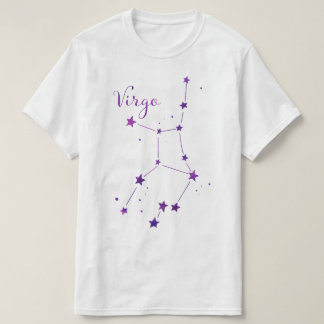 Virgo Zodiac Constellation T-shirt