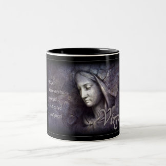 Virgo Zodiac Mug with Characteristics