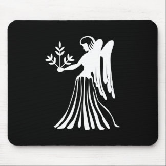 Virgo Zodiac Pictogram Mousepad