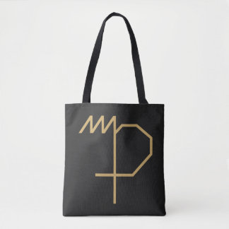 Virgo Zodiac Sign Basic Tote Bag