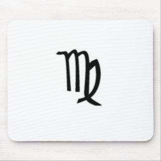 Virgo, Zodiac Sign Mousepads