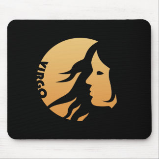Virgo Zodiac Sign Mouse Pad
