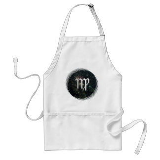 Virgo Zodiac Star Sign Universe Crafts Cook Chef Standard Apron