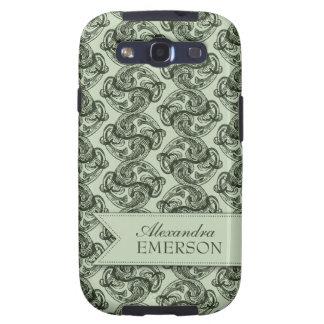Viridescent Swirl Samsung Galaxy Case Galaxy SIII Cover