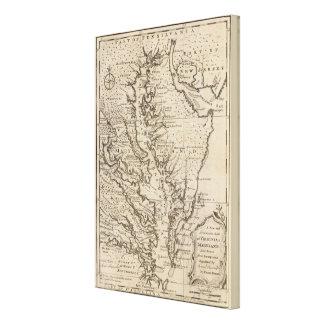 Virigina and Maryland Canvas Print