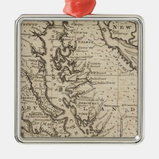 Virigina and Maryland Christmas Ornament