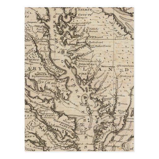 Virigina and Maryland Post Card